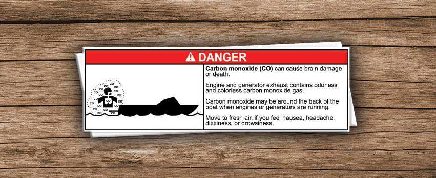 Danger: Carbon Monoxide  height=
